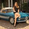 Danielle & 1960 Alfa Romeo